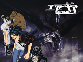 Air Gear Kogarasumaru AG by titaniaerza