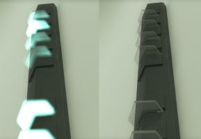 Stargate Wall Lights by oneguyvideos