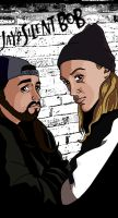 Jay and Silent Bob by deanfenechanimations
