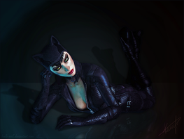 Catwoman by Halli-well