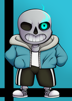 Sans by Inceadeus