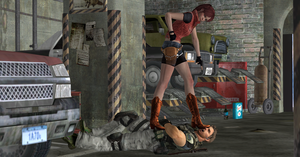 RE Femdom: Clarie And Chris RedField by nashdnash2007