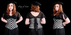 Stripes 3 views on Katie by Cuddlyparrot