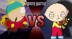 Cartman vs Stewie by FEVG620