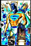 Superman and Kandor - Visions of an Icon by SteveZodiac2001