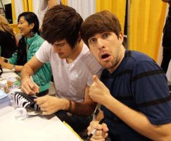 Meeting Smosh At VidCon by Cornelia17
