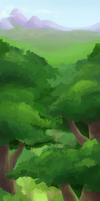 Forest Color Study 2 by pettyartist