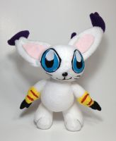 Digimon - Gatomon custom plush by Kitamon