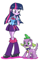 Equestria Girls by NewJM