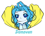 Donovan chibi for Mew by Peach-Stardust