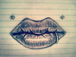 Angel Lips by DontTouchTheMap