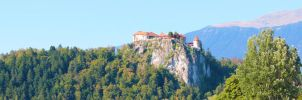 Bled castle by Bellestrella