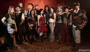 The Crew of the Celestial Rogues by DugFinn