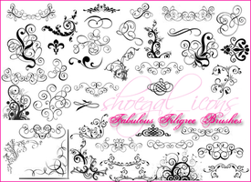 100x100 Fab Filigree Brushes by kissncontrol