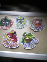 Speshul Badges Batch 1 by Axiroth