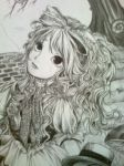 My Alice in Wonderland drawing by nandamegumi