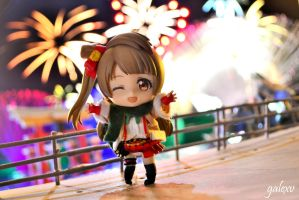 New Year's Eve with Kotori by gale015