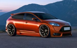 Ford Focus ST 2012 by HAYW1R3