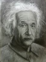 Albert Einstein Portrait by TenishevVArt