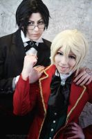 Alois Trancy and Claude Faustus - little bad boy by BellaKiyu