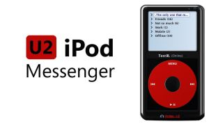 U2 iPod Messenger by terrill