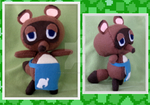 Tom Nook Plush by MushroomStomper