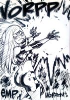 EMPOWERED's 'No-Look VORPP' con sketch by AdamWarren