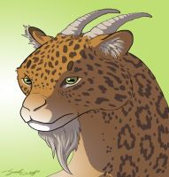 Leopard-goat by Sarbear12112