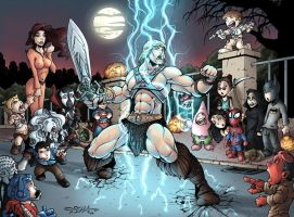 Masters of the Universe - Halloween on Earth by Killersha
