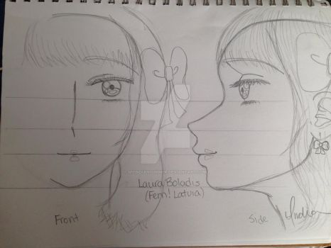 My Laura Balodis (Fem! Latvia) Sketch-Out by Myindiansummer