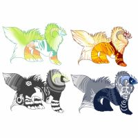 Stitch Beasts Adopts - Open by belxoxo