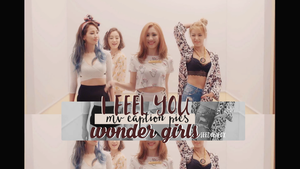 MV I feel You - WonderGirls captures by JeedoriFox