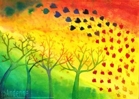 Last Autumnal Hearts by Andenne
