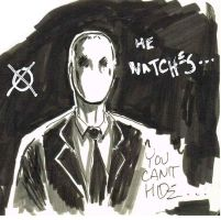 kurt and the slender man: a shocking discovery by TheConsultingArtist1