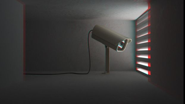 Spycam Anaglyph by ariebaba
