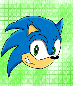Sonic The Hedgehog by FernTheShapeShifter