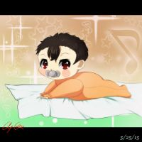 500 Watchers Special: Baby Akimoto by Aloubell
