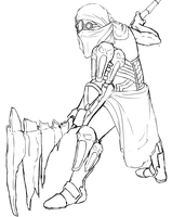 Sutekh - The Religious Fanatic (WIP) by Linitha