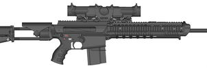 New Rifle by SPARTAN-004