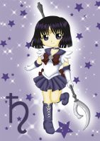 Chibi Sailor Saturn by Dawnie-chan