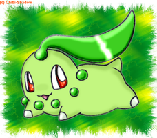 Chikorita by Sweet-Chibi-Shadow