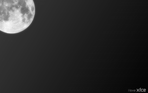 xfce moon by Lapapunk