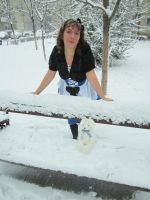 Alice in Winterland by SerassPhoto