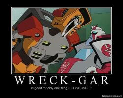 Transformers Animated Wreck-Gar by Onikage108