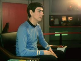 Myself as Spock by WilliamSnape