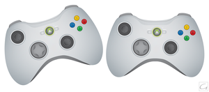 XBOX 360 Controller Coloured by GHussain