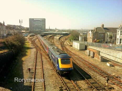 First Great Western HST at Plymouth by The-Transport-Guild
