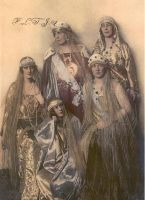 Coronation in 1922 by Linnea-Rose