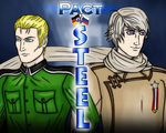 Hetalia - Russia + Germany (Archer) by SovietMentality