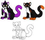 Kitten Adopts With Custom by NightShrowd7-17